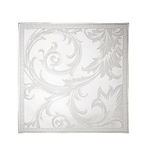 Centro Arabesque de cristal cuadrado de Rosenthal Versace
