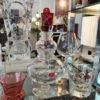 Botella de cristal con tapón rojo de Marcel Wanders para Baccarat