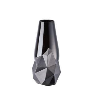Jarrón Geode Schwarz de porcelana de Rosenthal