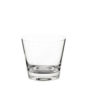 Vaso bajo Anais de cristal de Sevres