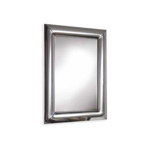 Espejo Curves con marco de espejo redondeado