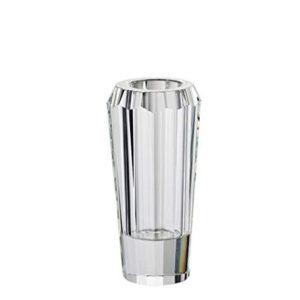 Jarrón Diamonds facetado de cristal de Rosenthal