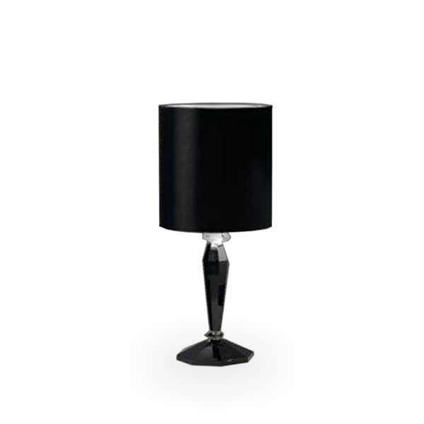 Lámpara Alena de cristal negro de Fendi Casa