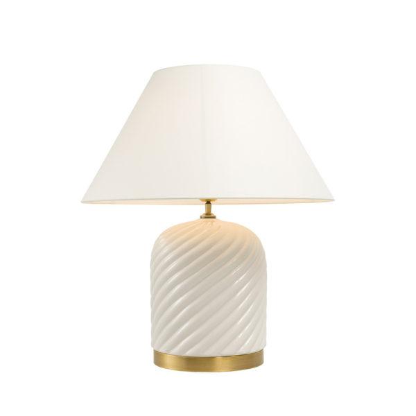 Lámpara Savona de Ecihholtz de cerámica beige