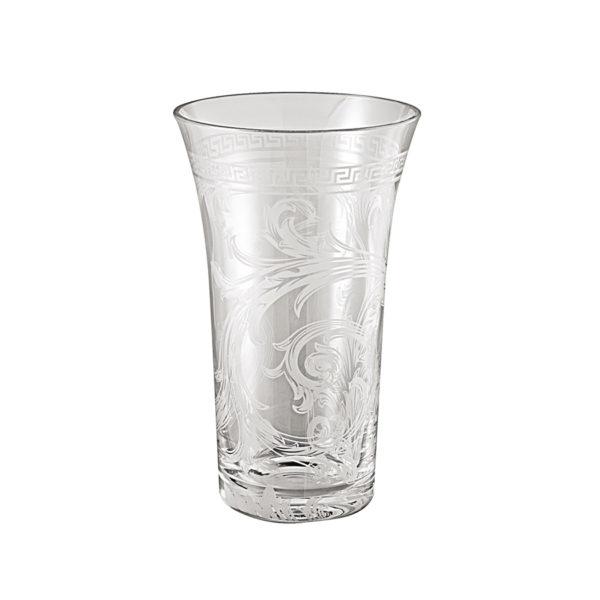Jarrón Arabesque 34 de cristal de Rosenthal Versace