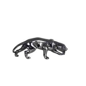 Jaguar de aluminio negro
