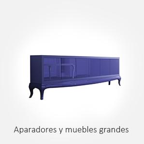 Selección de aparadores y muebles grandes para salón