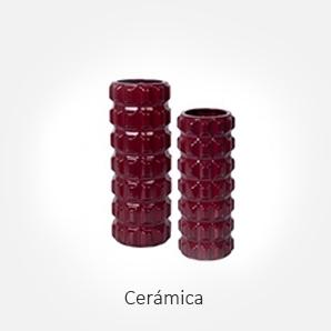 Objetos decorativos de cerámica