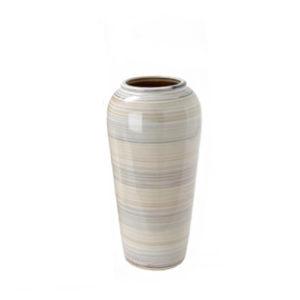 Jarrón alto - paragüero de cerámica