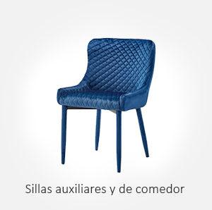 Selección de sillas auxiliares y de comedor