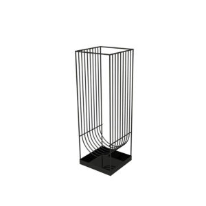 Paragüero negro de diseño CURVA de AYTM