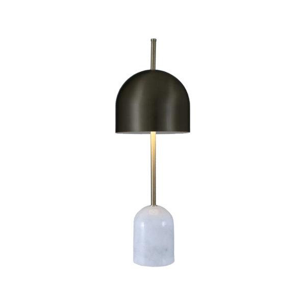 Lámpara de sobremesa con base de mármol
