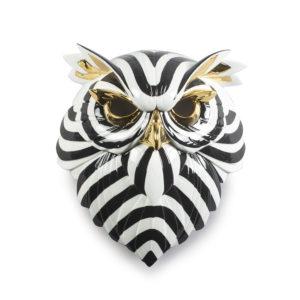 Máscara búho de Lladró