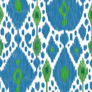 5446/002 Ikat azul de gastón y Daniela
