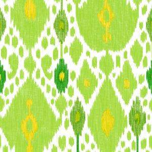 5446/003 Ikat verde de gastón y Daniela