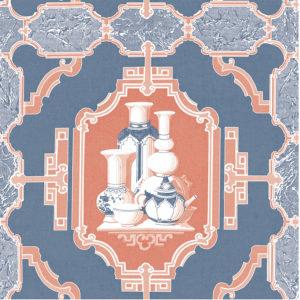 5445/004 Porcelanas azul/rojo de Gastón y Daniela