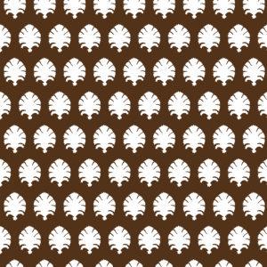 5440/004 Stamp marrón de Gastón y Daniela