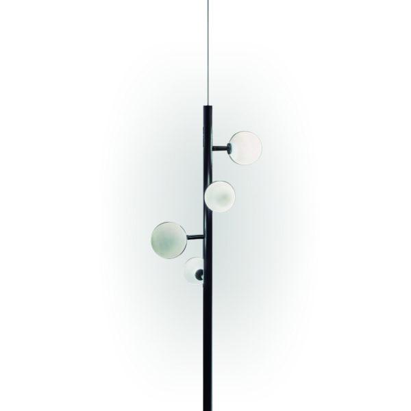 Lámpara colgante Lineal de bolas