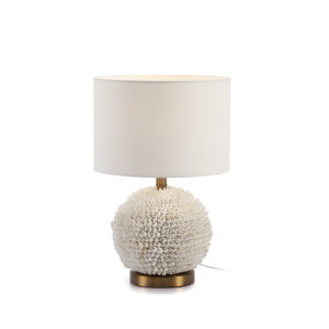 2215100 Lámpara de cerámica con base de conchas