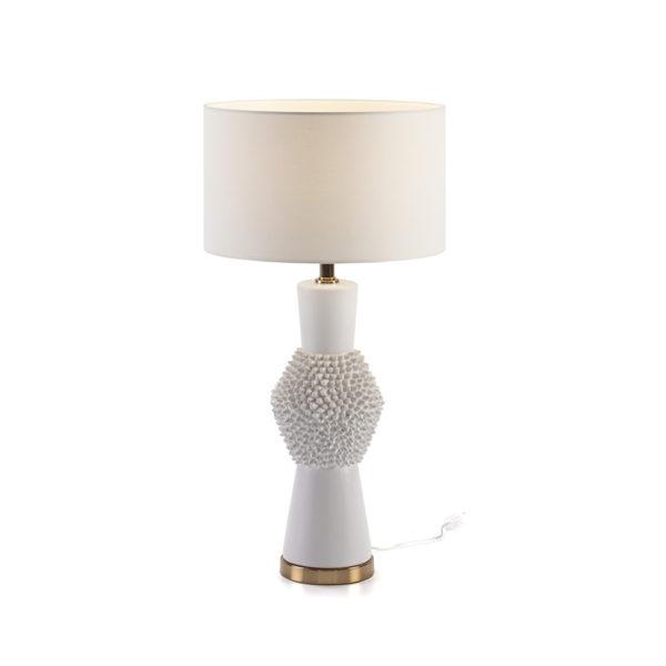 2215200 Lámpara de cerámica con relieve