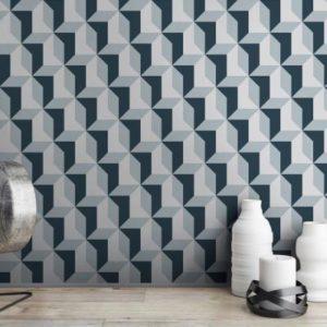 M3216 Mural decorativo Caleira geométrico