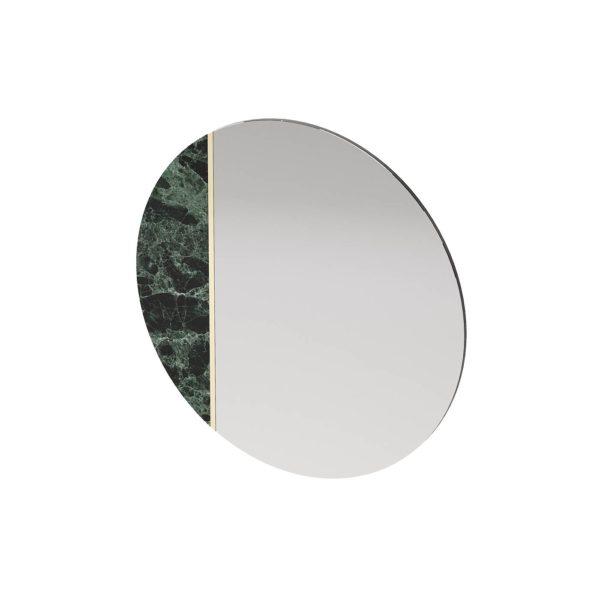 Espejo con detalle de mármol