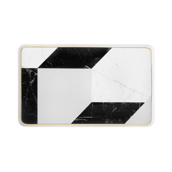 21124418 Fuente rectangular grande Carrara